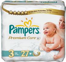 Baby.ru Акция Pampers® Premium Care