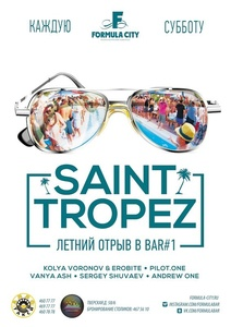 SAINT-TROPEZ @ FORMULA BAR