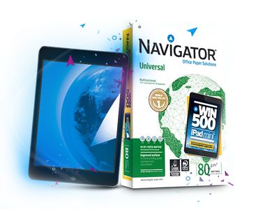 Офисная бумага Navigator - Play with Navigator and Win 500 iPad mini