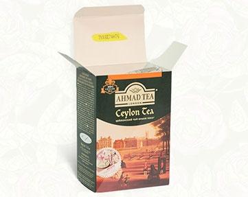 Акция чая «Ahmad Tea» (Ахмад Ти) «Из Лондона с Любовью»