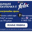 Акция  «Felix» (Феликс) «Felix в сети Покупочка»