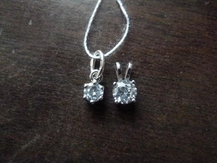 Подвески в подарок от санлайт серебро ли 87