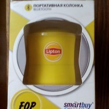 колонка от Lipton Ice Tea