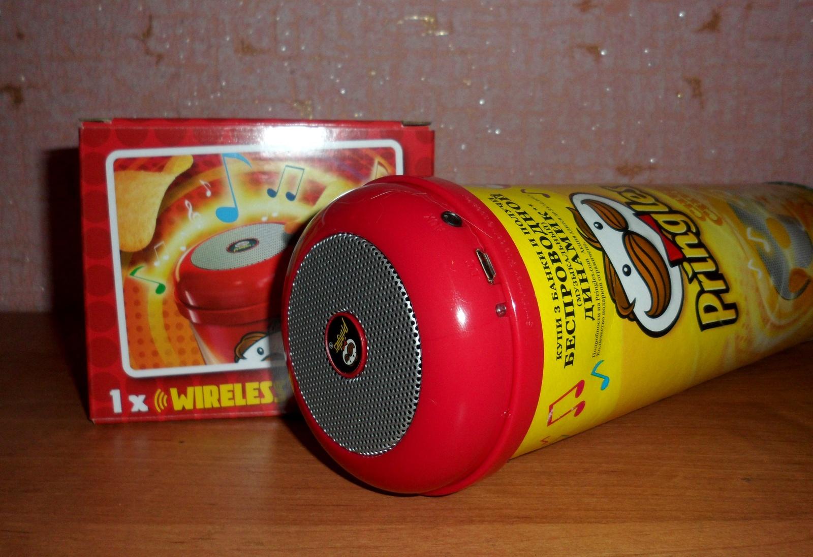 Беспроводной динамик от Pringles Отзывы покупателей 89
