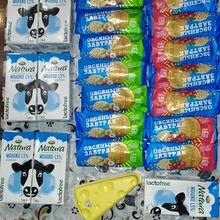 """Месячный запас печенья и молока от """"Посиделкино"""" и """"Арла Натура"""" ( + всем известный контейнер для сыра)"""