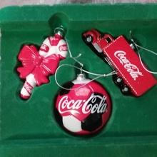 Елочные игрушки от Coca-Cola