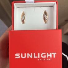 Золотые серьги с доплатой 690 р от SUNLIGHT