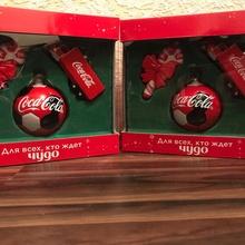 Ёлочные игрушки от Coca-Cola