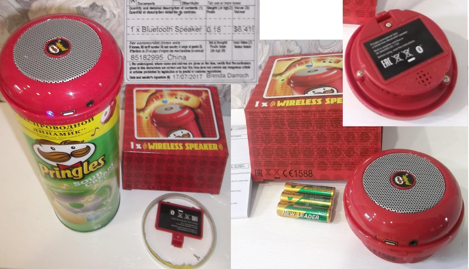 Беспроводной динамик от Pringles Отзывы покупателей 28